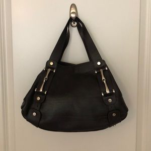 Vera pelle brown handbag